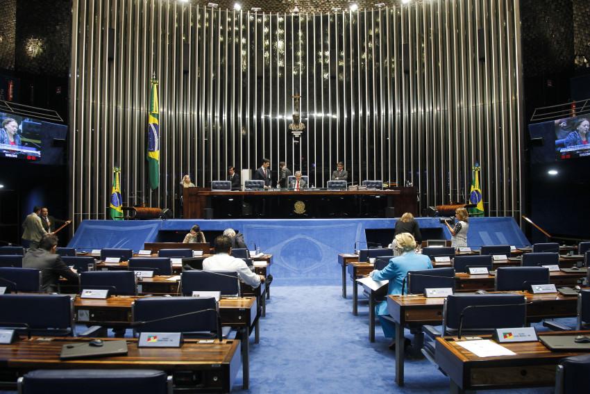 Foram 58 votos favoráveis e nenhum contra. Foto: Beto Barata/Agência Senado