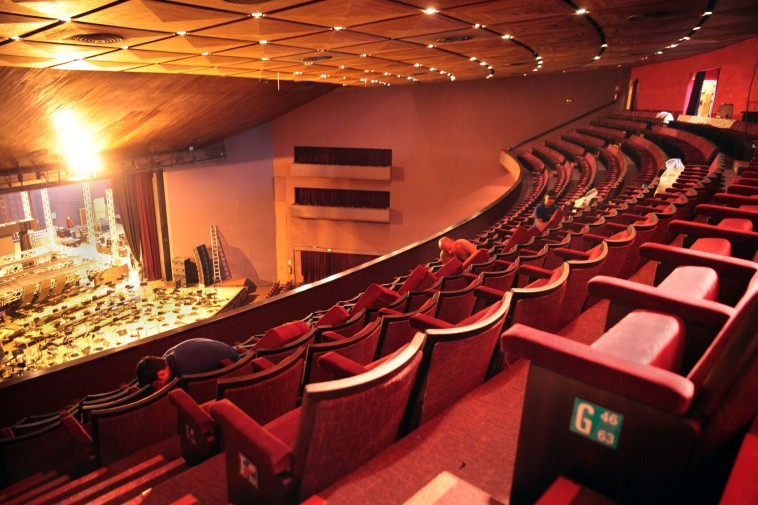 Teatro Zaqueu de Melo. Foto: Karin van der Broocke
