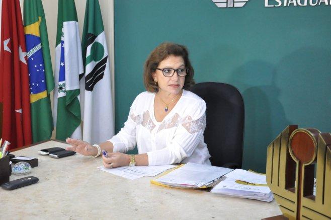 Berenice Jordão, reitora da UEL. Foto: Divulgação