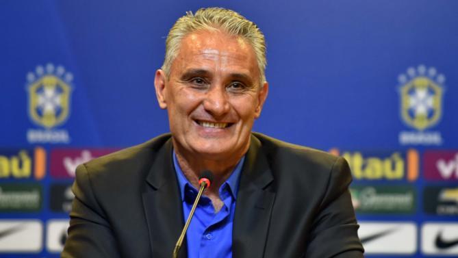 Seleção Brasileira apresenta técnico Tite