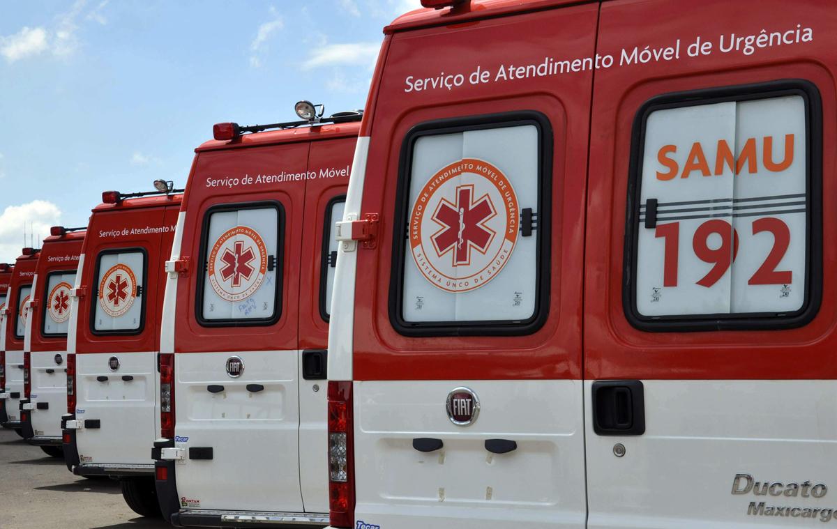 Ambulâncias do Samu - Foto Divulgação