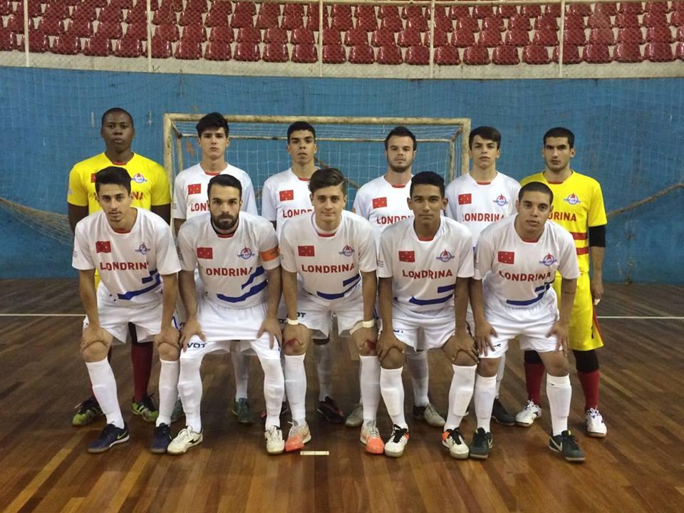 Londrina Futsal Sub 20 Foto Divulgação