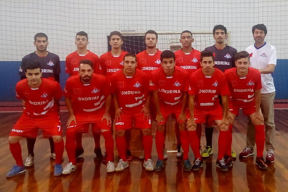 Londrina Futsal adulto Foto Divulgação