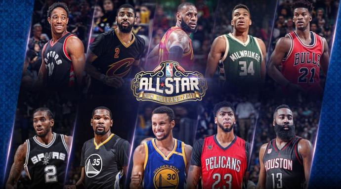 NBA All-Star Titulares_Divulgação