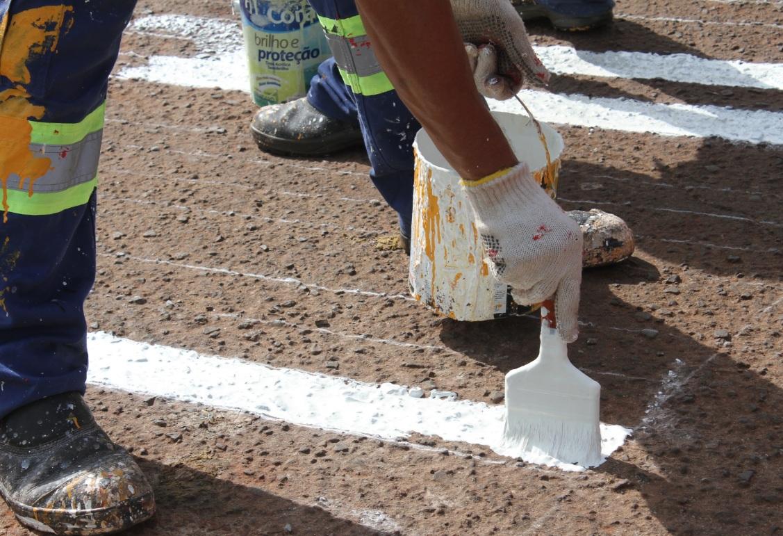 Sinalização Viária - Foto Divulgação CMTU (2)