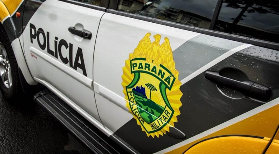 Viatura da Polícia Militar PM - Foto Divulgação PM-PR