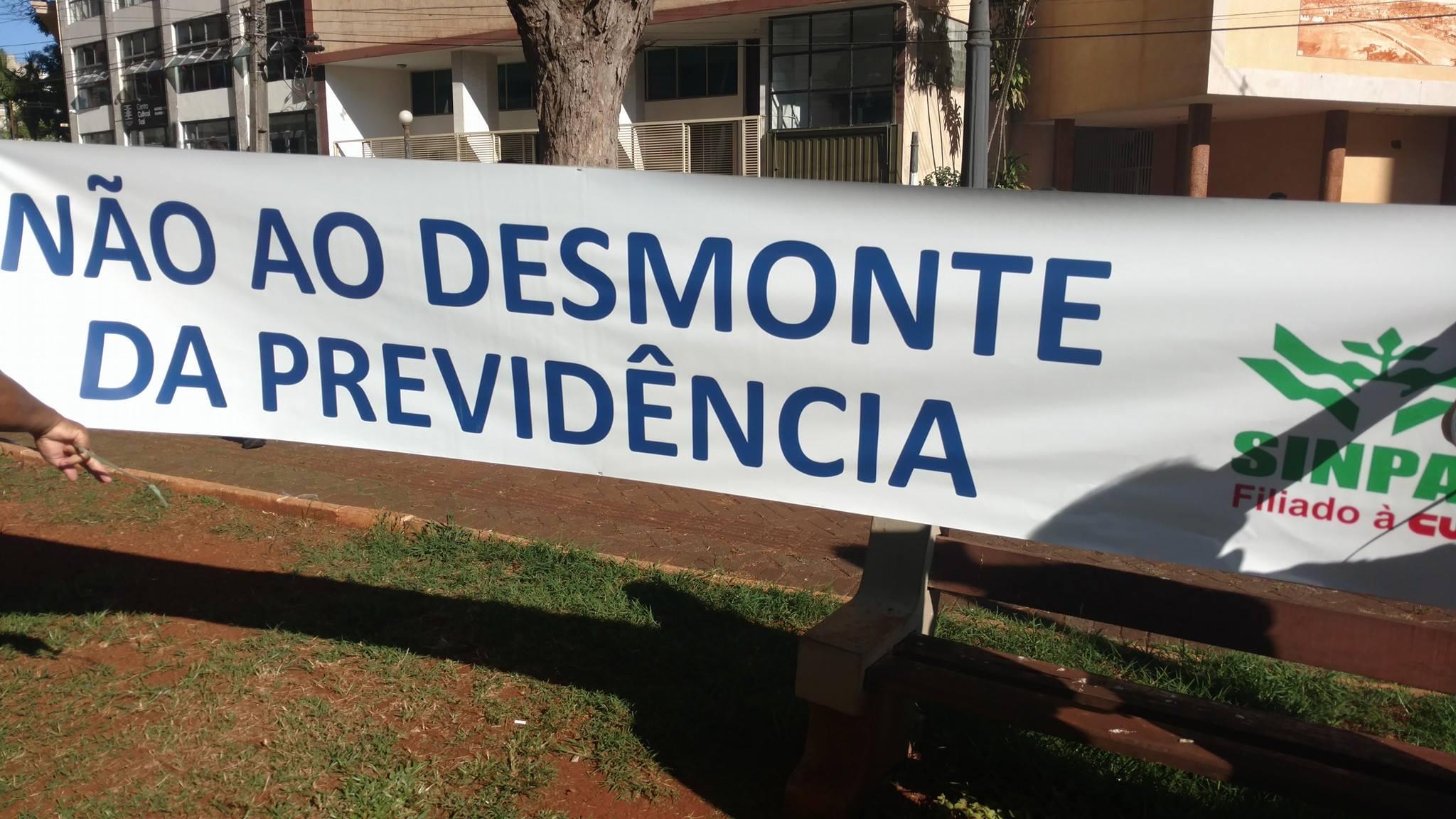 Manifestação na Concha Acústica - 15 março - contra a Reforma da Previdência - Foto Neto Almeida (24)