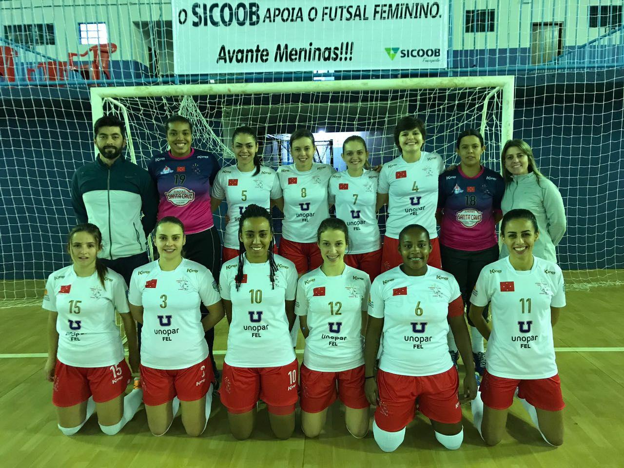 Futsal Feminino - Londrina x Assis Chateaubriand - Paranaense 2017 - Foto Divulgação