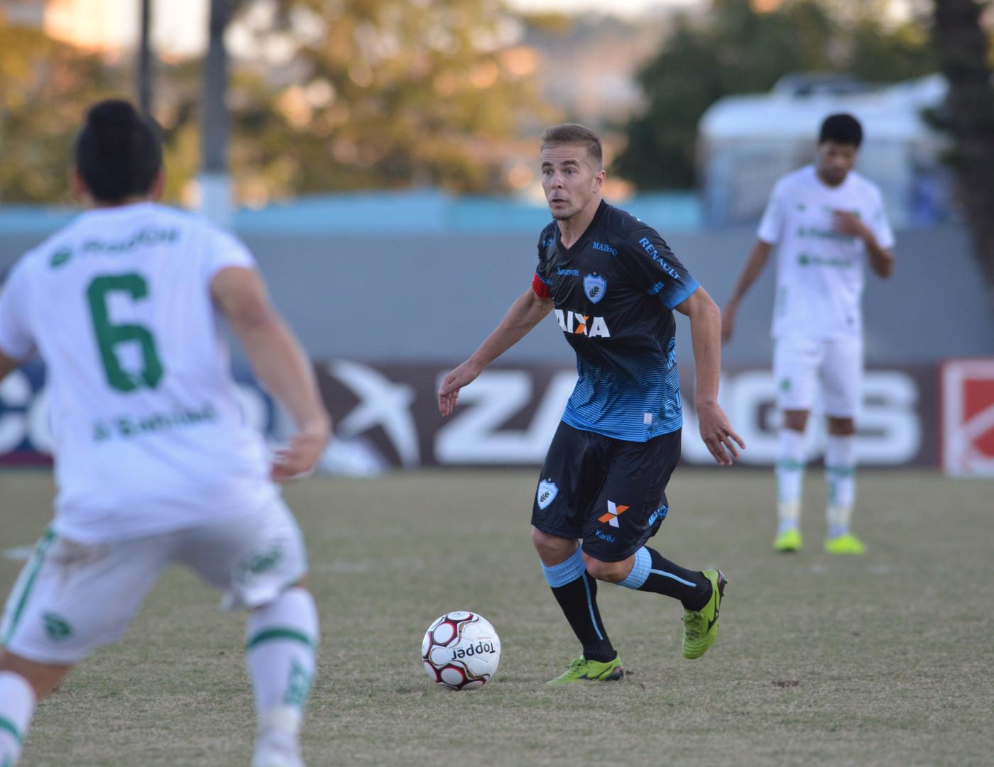 Jardel está de volta ao time. Foto: Gustavo Oliveira/Londrina Esporte Clube