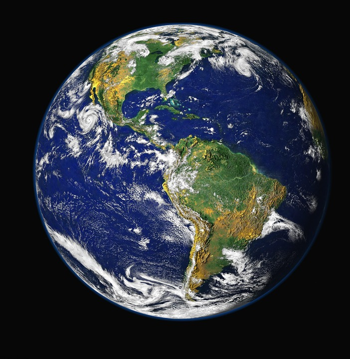Planeta Terra - Foto Pixabay