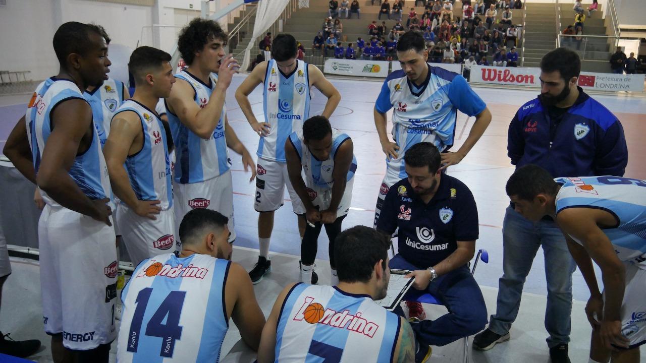 Londrina Unicesumar Basketball teve sequência de vitórias interrompida Foto: Divulgação