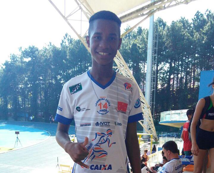 Bruno Augusto Luiz  - Atletismo - Foto: Divulgação