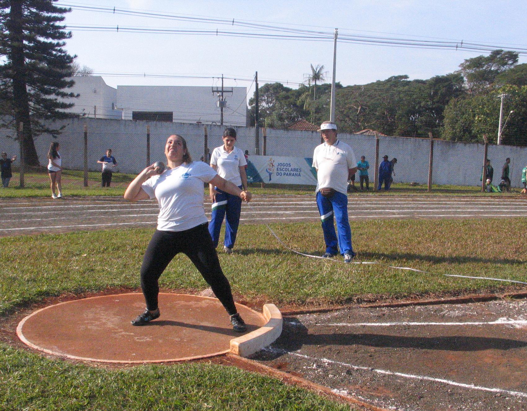 Giovanna Nogueira Vespero - Jogos Escolares 2017 - Foto: Marcelo Flessak/SEET-PR