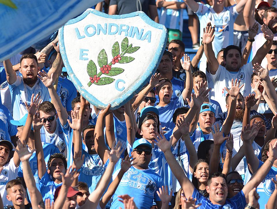Torcida Londrina Foto Gustavo Oliveira LEC