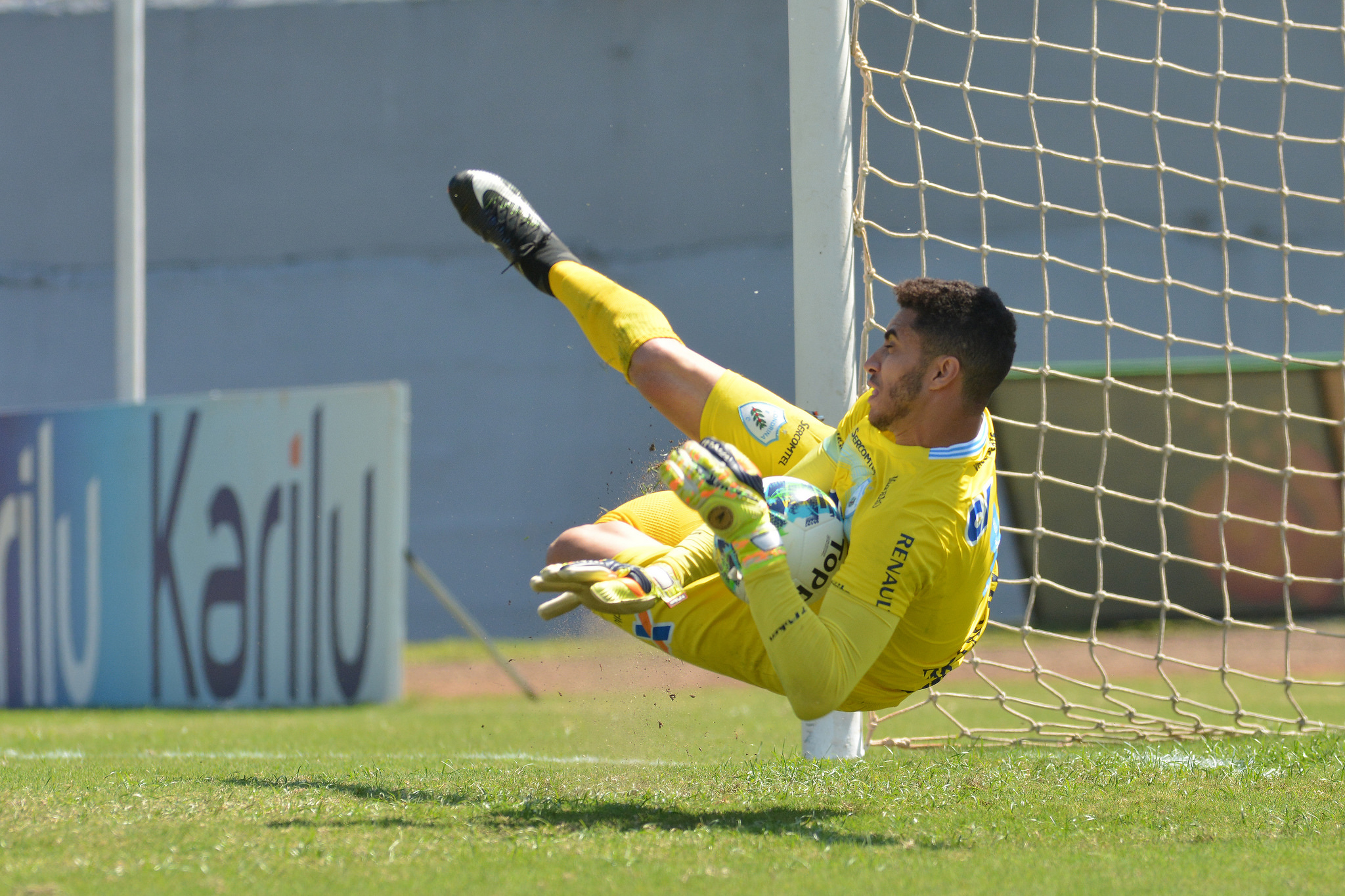 César está no LEC desde 2014. Foto: Gustavo Oliveira/Londrina Esporte Clube