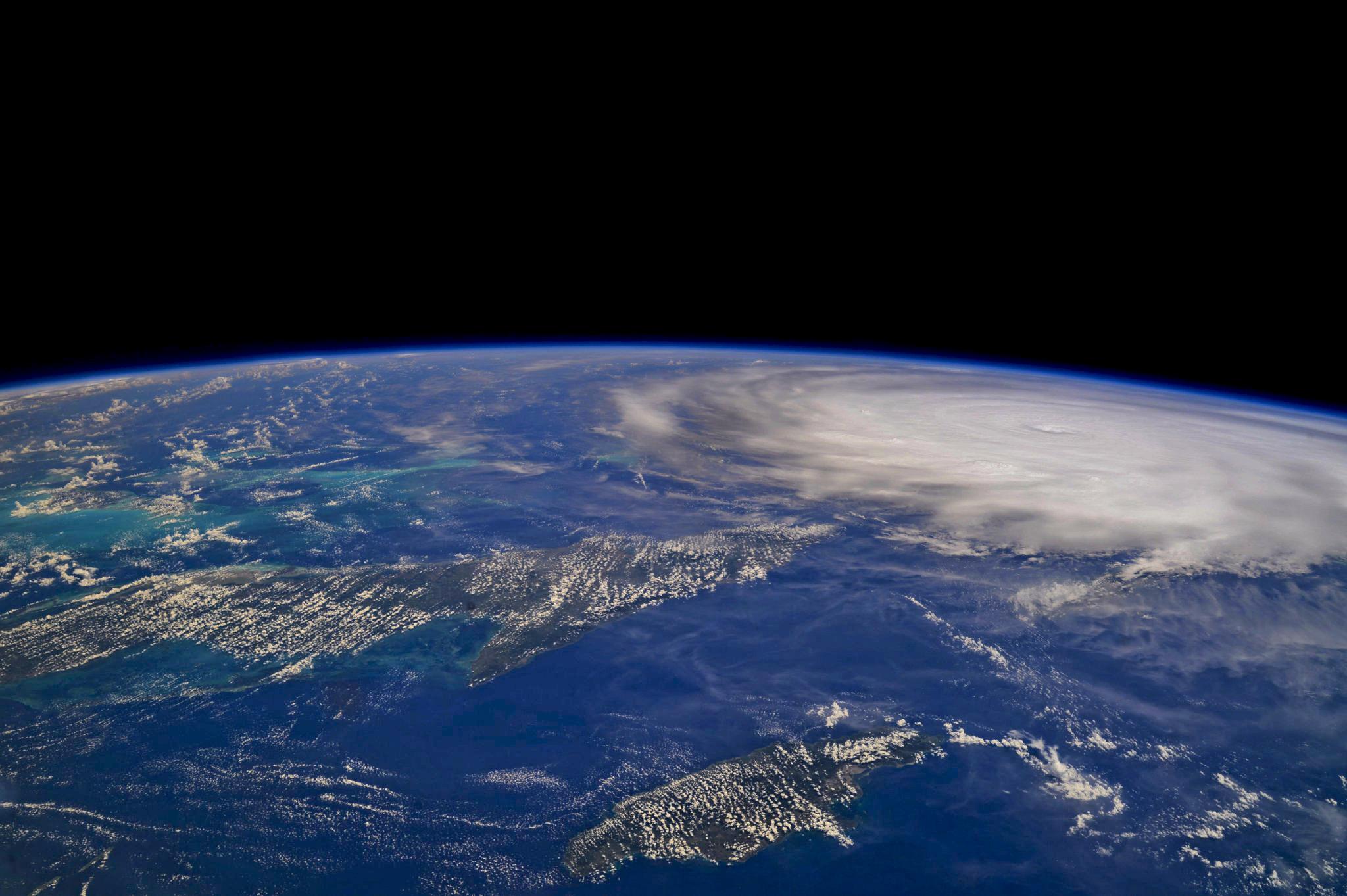 Furacão Irma visto do espaço - Foto: NASA