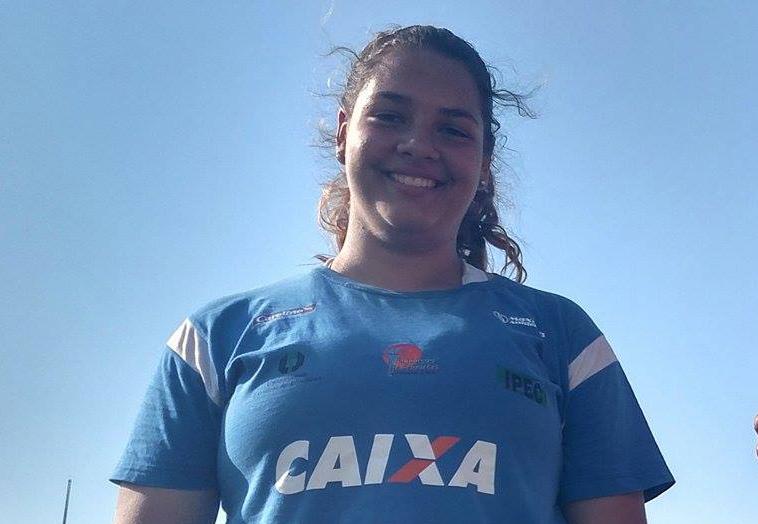 Giovanna Vespero é uma das representes da equipe de Londrina. Foto: Divulgação/Assessoria