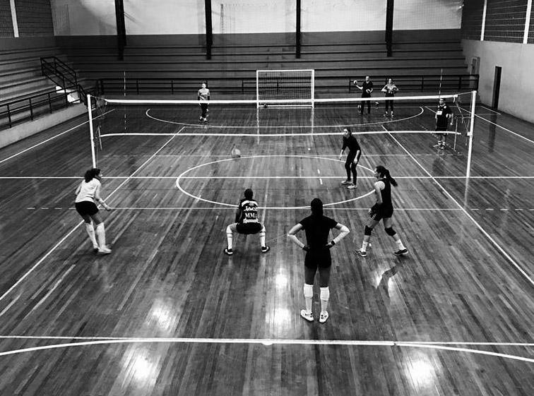 Adeps Positivo - vôlei feminino - Foto Divulgação
