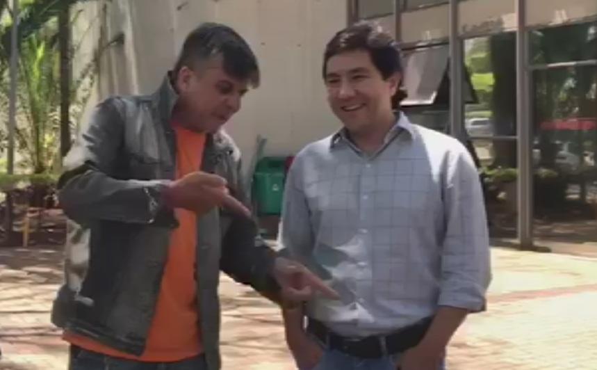 Boca Aberta ameaça presidente da Câmara e recebe voz de prisão