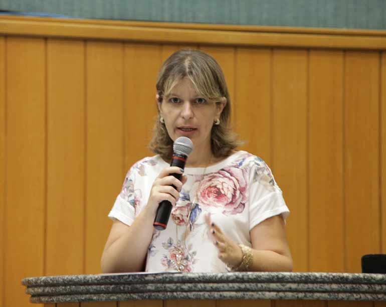 Daniele Ziober também votou contra orientação do partido. Foto: Reprodução CML