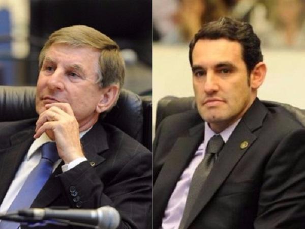 Deputados Elio Rusch e Alexandre Guimarães - Foto: Divulgação/Alep