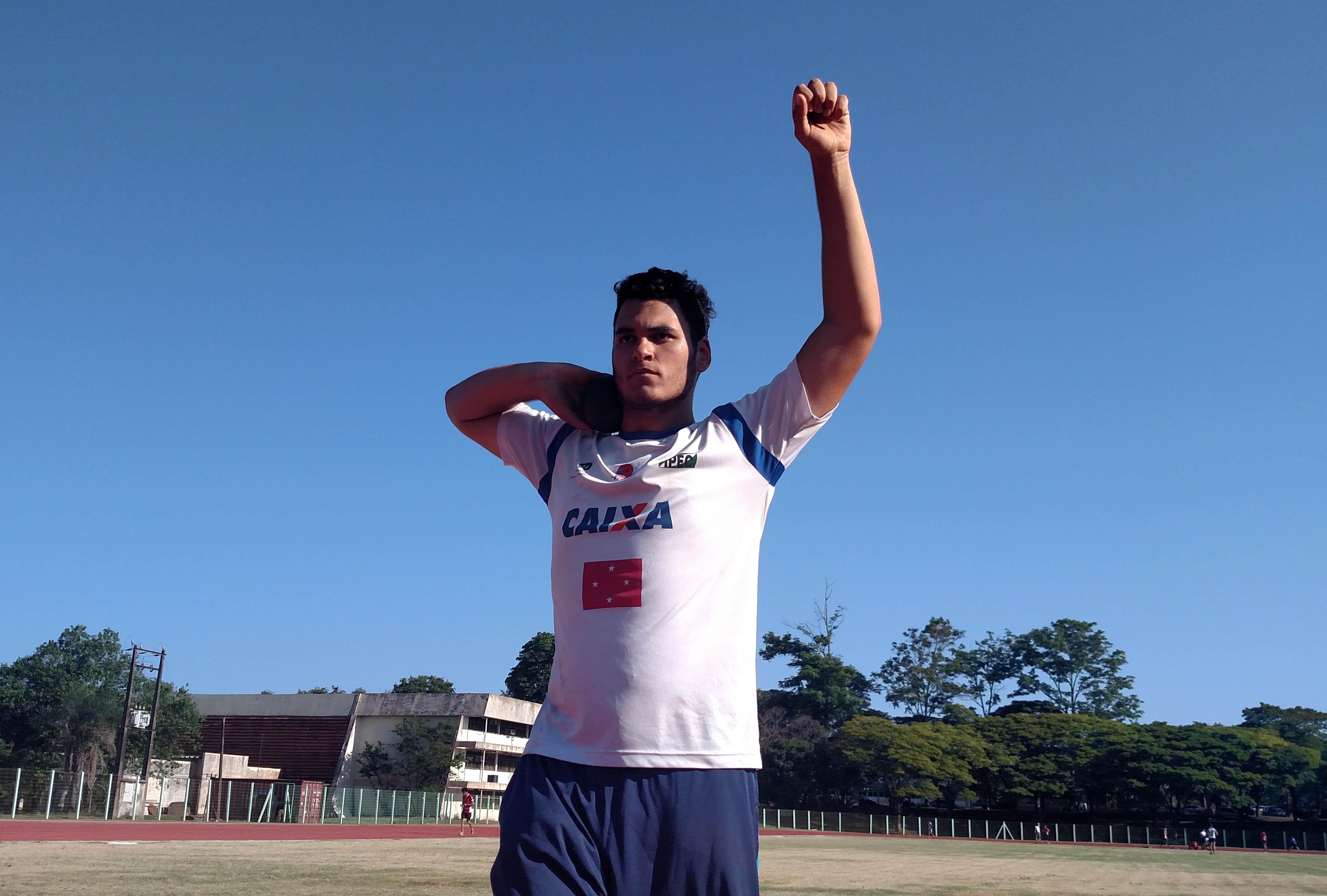 Leonardo Mário dos Santos - Atletismo Londrina - Foto: Rafael Souza/Assessoria de Imprensa