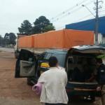 policia prende ladrao de caminhao Foto Divulgacao