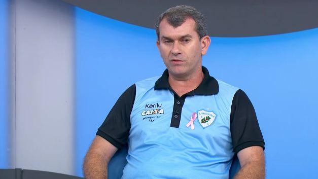 Treinador do Londrina participou do programa Bem,Amigos!. Foto: Reprodução SporTV