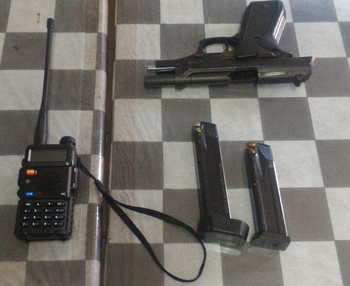 Menor é apreendido com pistola na zona norte de Londrina
