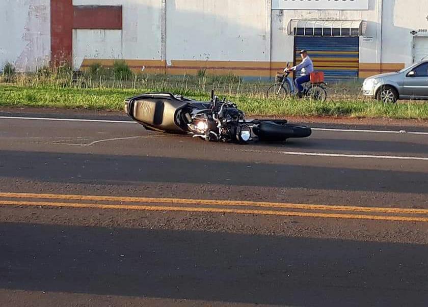 Motocicleta morre Foto WhatsApp Paiquere