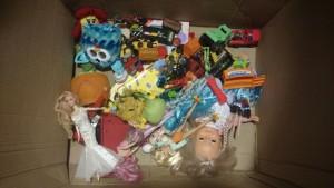 Brinquedos - campanha de Natal Paiquerê - Foto Weslley Lemos