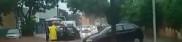 Com as chuvas, trecho da avenida Celso Garcia Cid fica alagado
