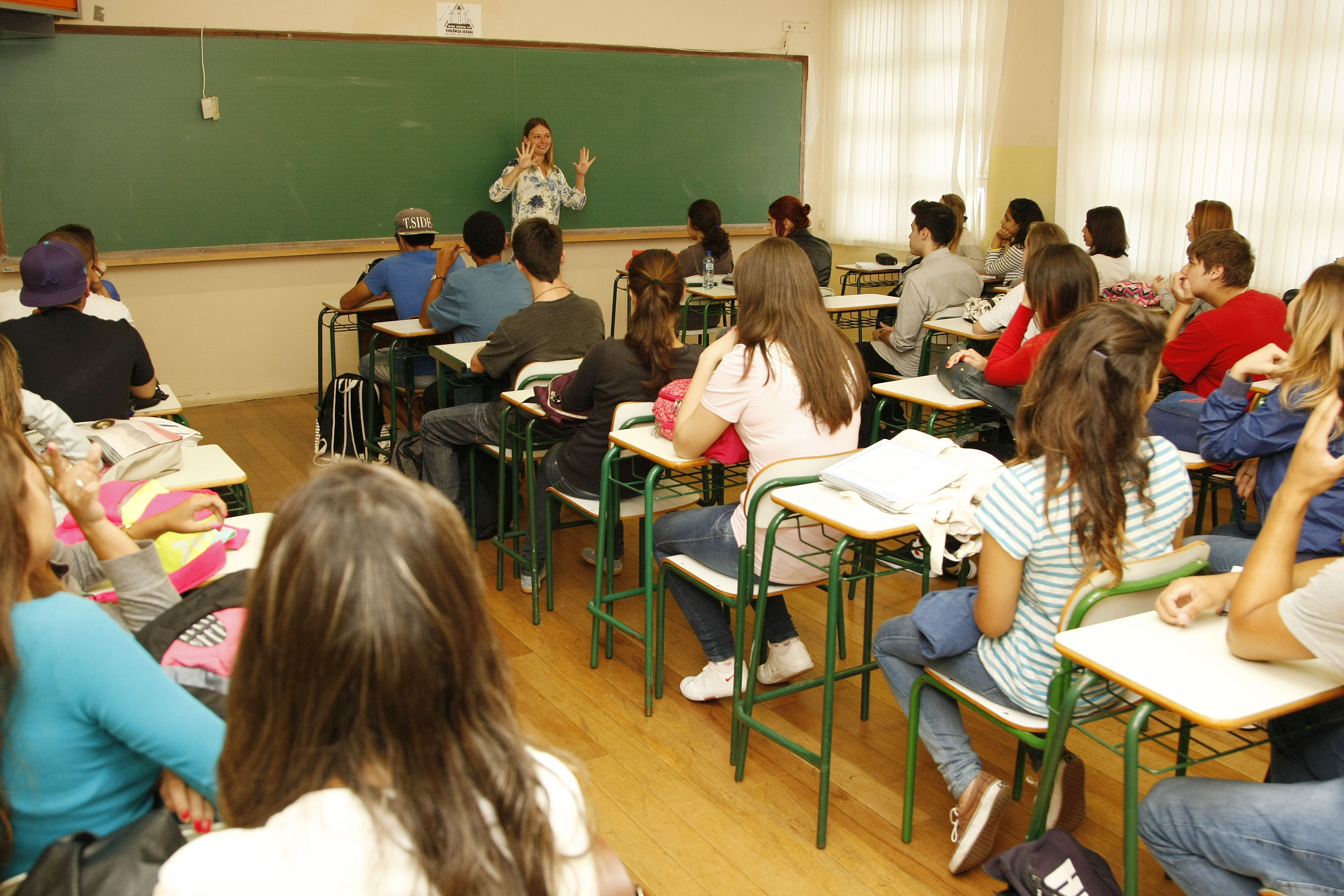 Rede estadual de ensino Foto: Hedeson Alves/SEED