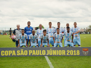 Tubarãozinho teve três vitórias em três jogos na primeira fase da Copinha. Foto: Gustavo Oliveira/Londrina Esporte Clube