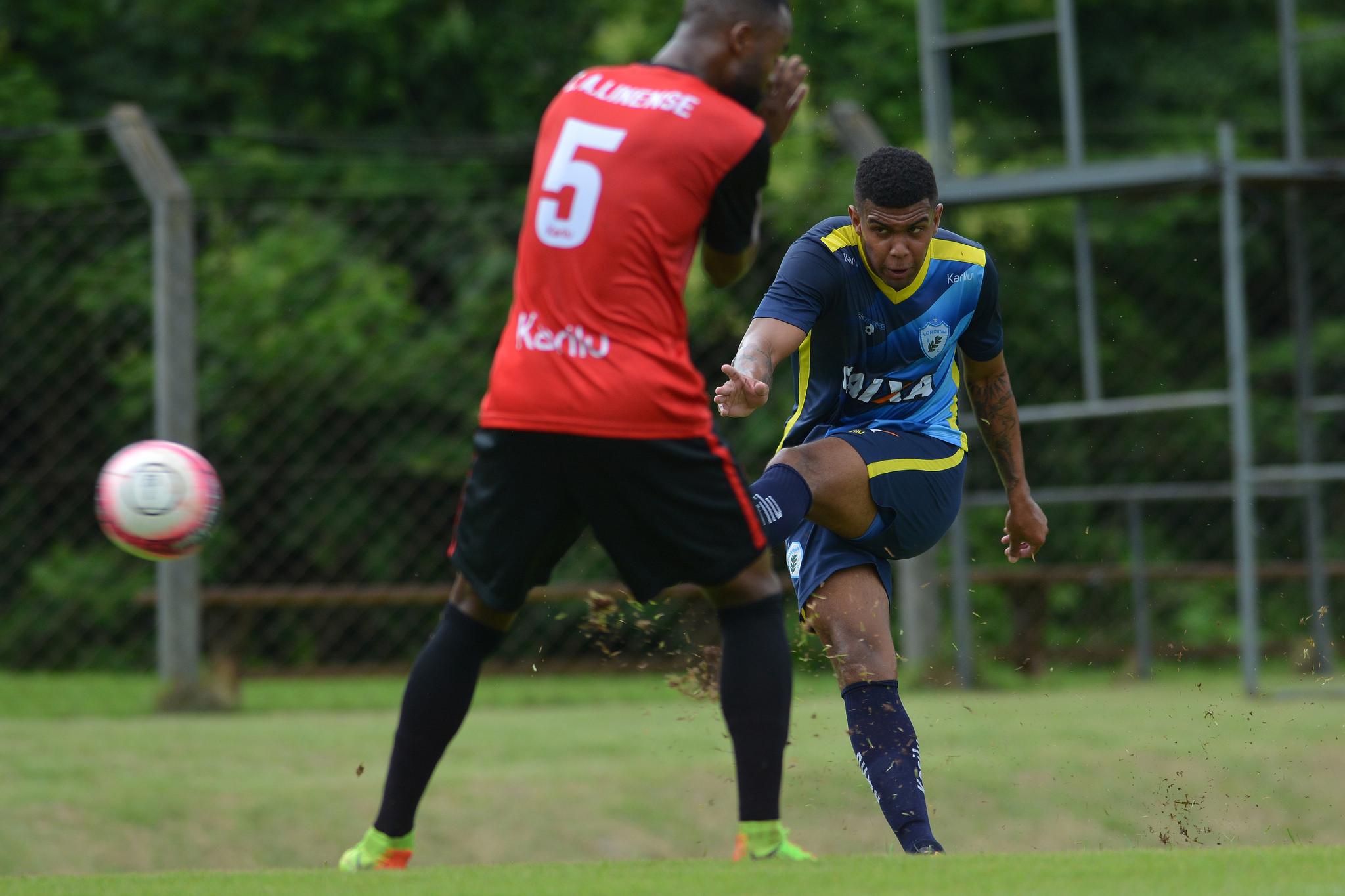 Meia Alex segue sem se reapresentar ao LEC. Foto: Gustavo Oliveira/Londrina Esporte Clube