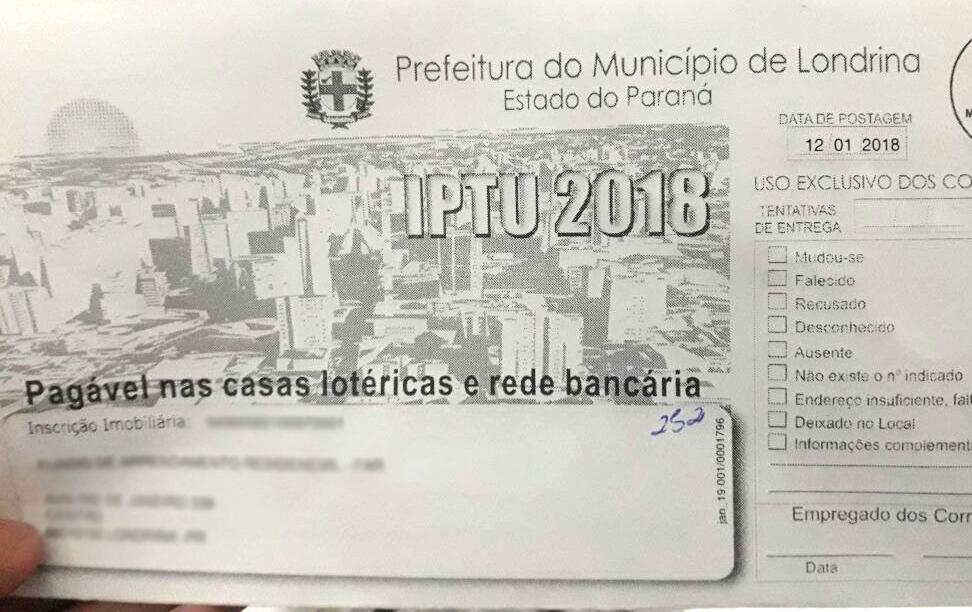 IPTU 2018 Foto Paiquere (2)