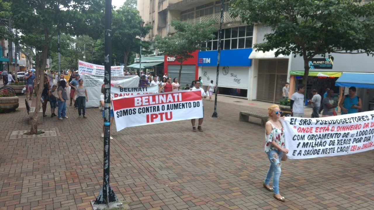 Manifestacao IPTU Foto Paiquere