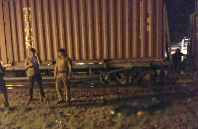 homem morre atropelado trem arapongas Foto WhatsApp Paiquere