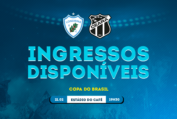 Londrina X Ceará Divulgação