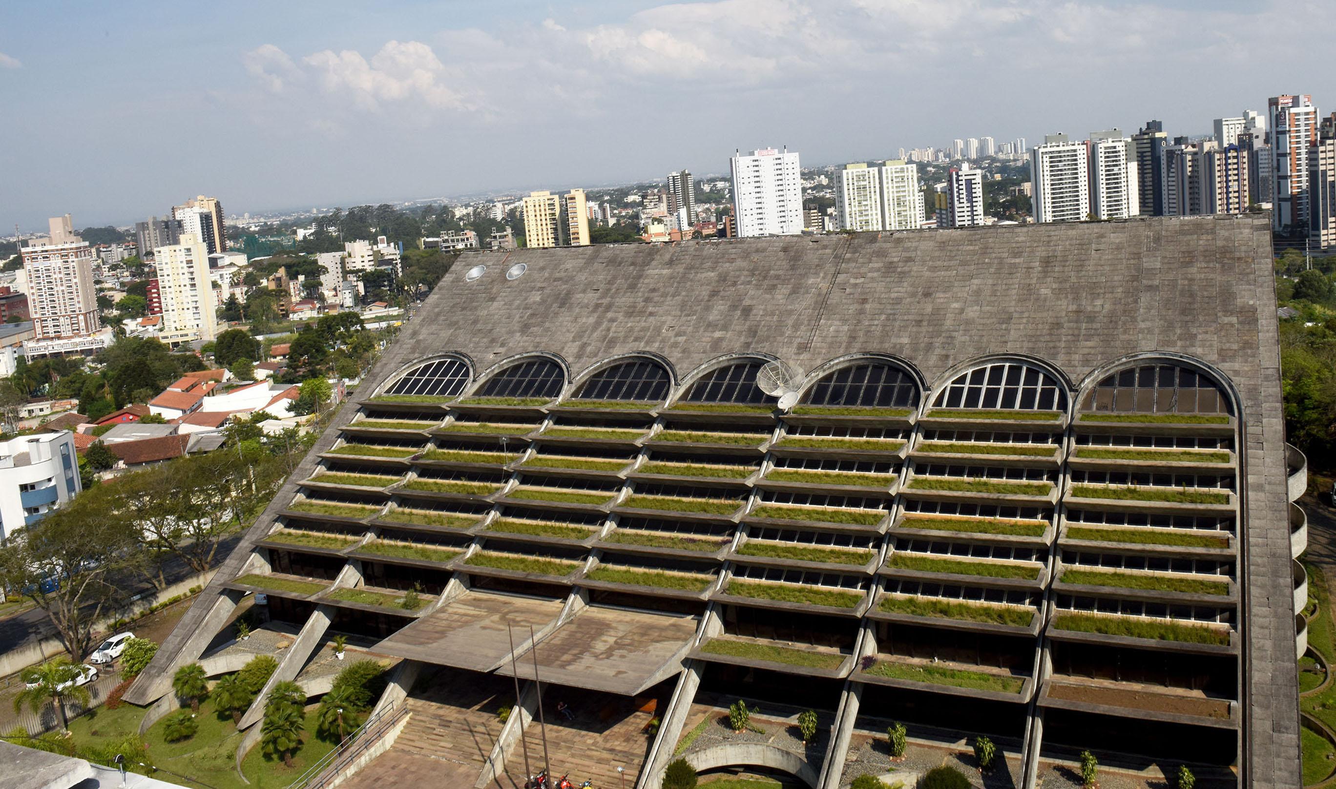 Sede da Emater em Curitiba