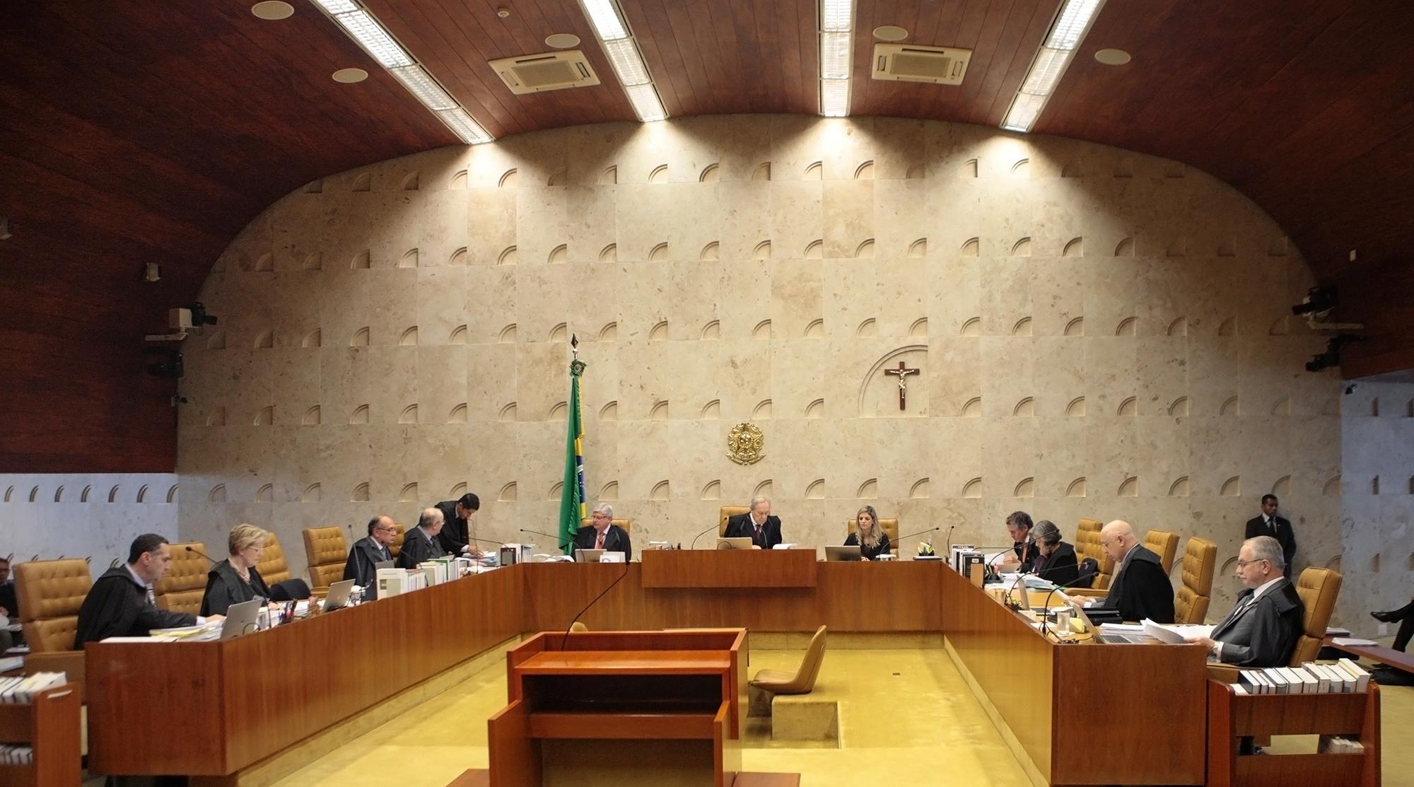 Sessão Plenária do STF Foto Nelson Jr./SCO/STF