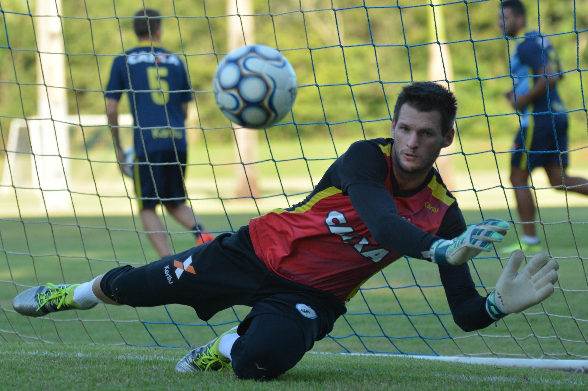 Goleiro Vagner. Foto: Gustavo Oliveira/Londrina Esporte Clube