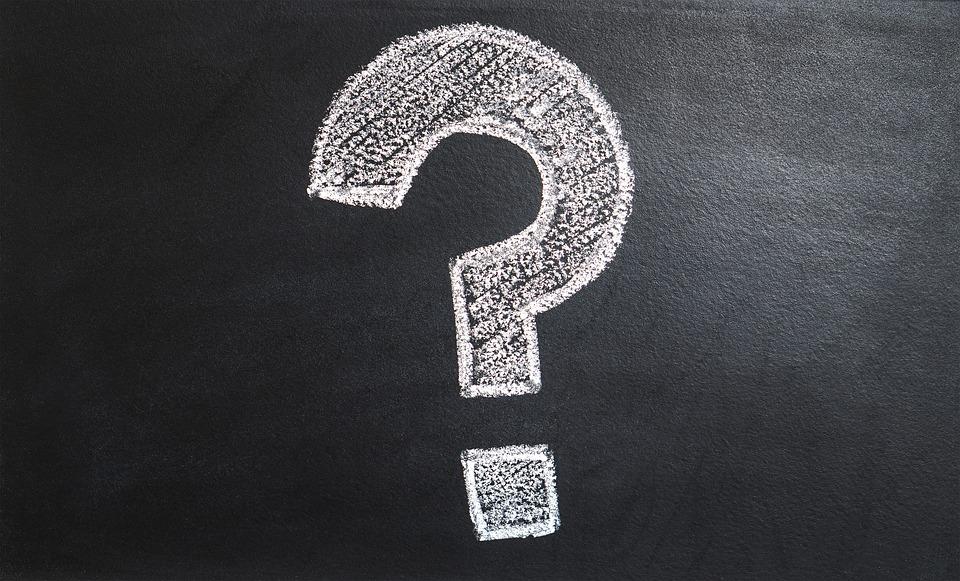 Pergunta ponto de interrogação. Foto Pixabay