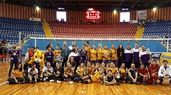 A equipe do Londrina Vôlei está de mudança para Balneário Camboriú Foto: Arquivo Paiquerê