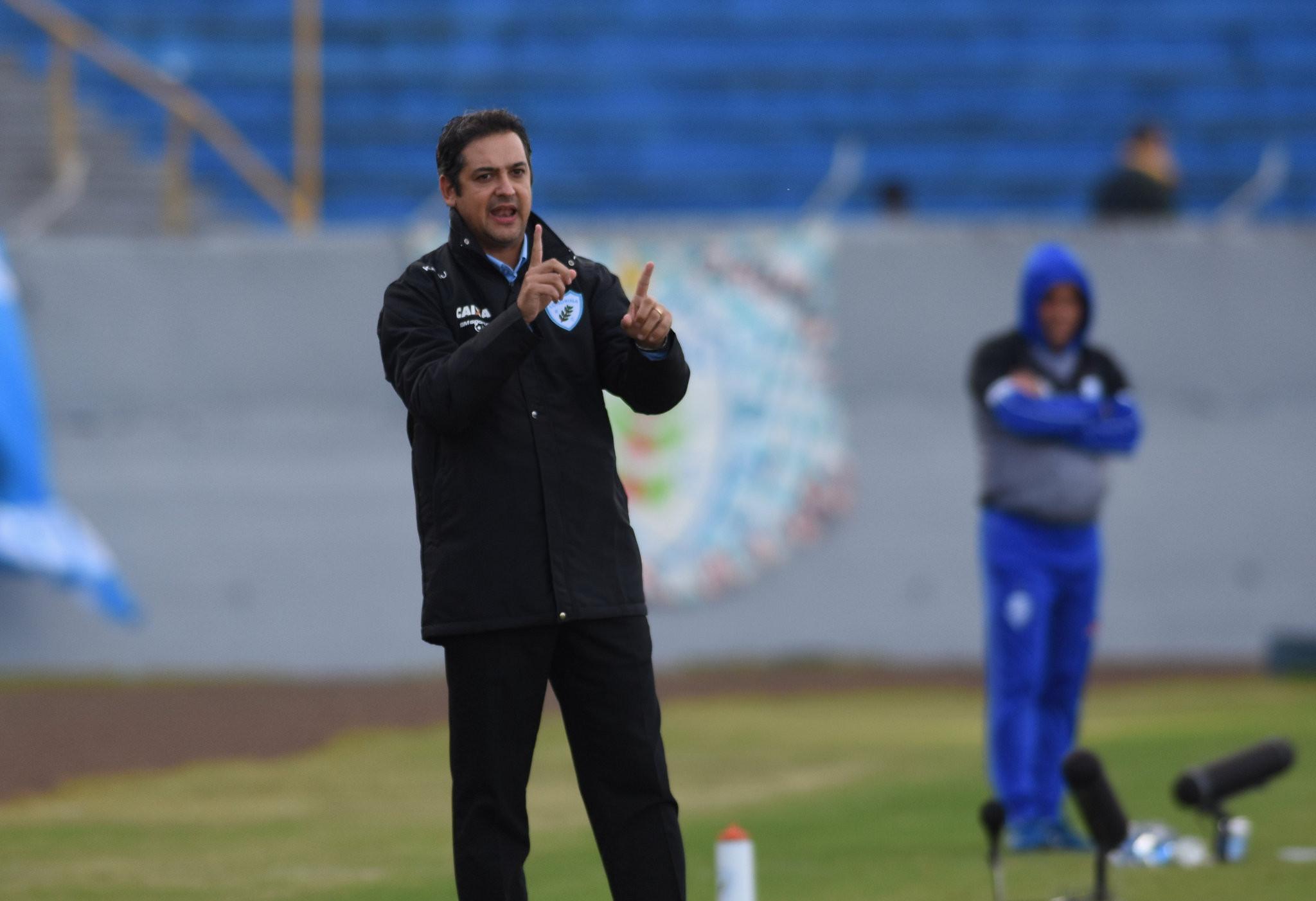 Marquinhos Santos Foto: Gustavo Oliveira/Londrina Esporte Clube