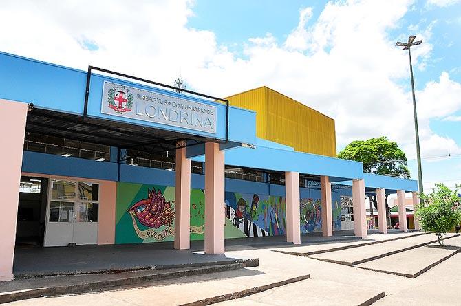 Biblioteca Pública Municipal Lupércio Luppi - Centro Cultural da zona norte. Foto: Folha de Londrina