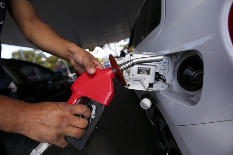 Gasolina. Foto: Marcelo Camargo/Agência Brasil