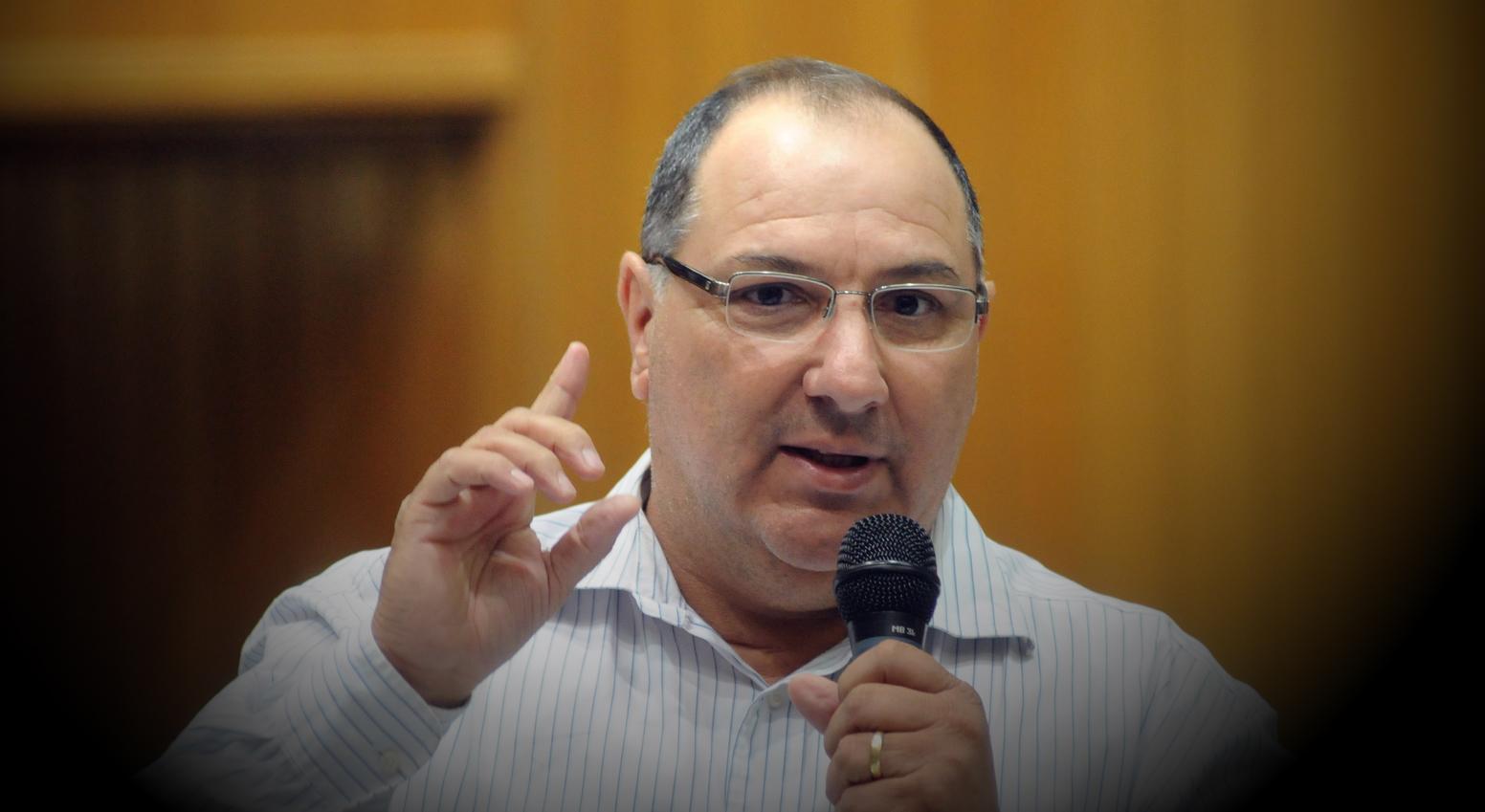 Vereador Péricles Deliberador, setembro 2015