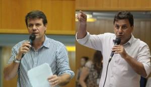 Tio Douglas e Jamil Janene. Fotos: Devanir Parra/CML