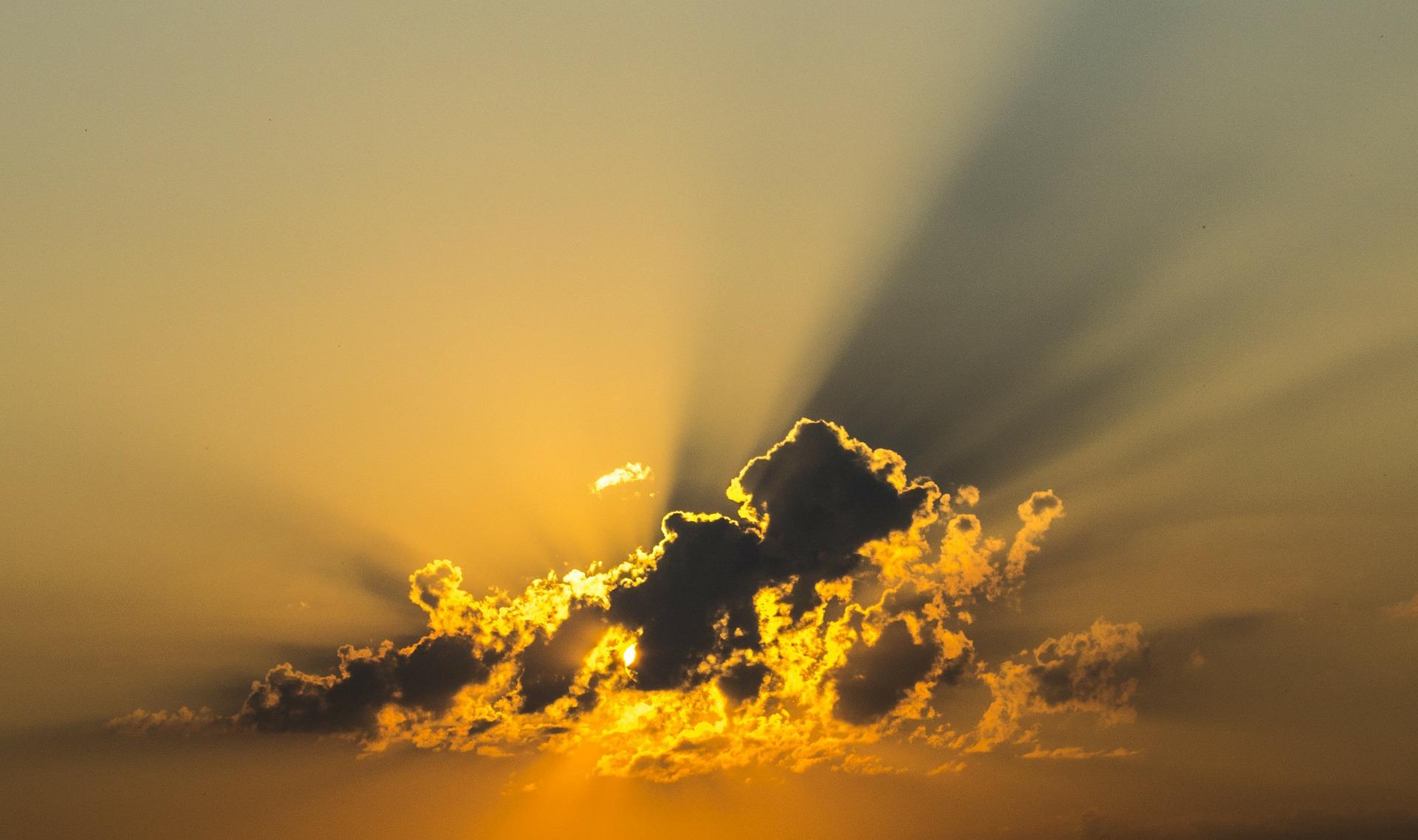 sol ceu nuvem foro pixabay